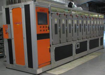 A close up of a machine