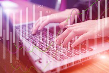 Hand Type Keyboard Money Finance Business Table